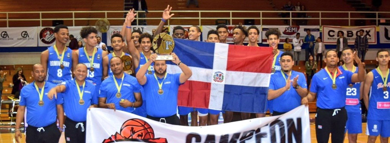 Dominican Republic crowned Centrobasket U15 Champion in Hermosillo