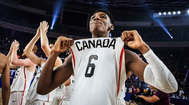 6 R.j. Barrett (CAN)