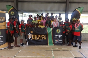 Vanuatu Basketball Federation launch their Hoops for Health program