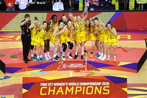 Flawless Australia soar to historic first FIBA U17 Women's World Championship title