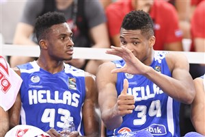 Antetokounmpos poised to become latest World Cup brother combo