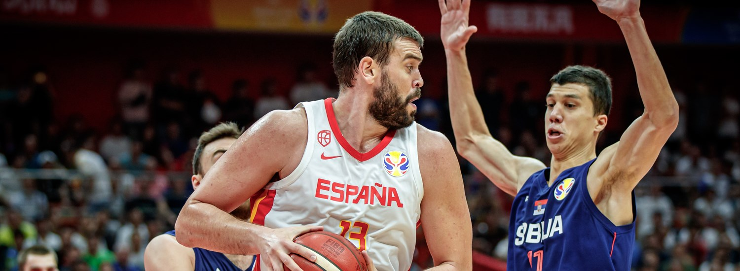 Spain slow Serbia with tough defense, win Group J - FIBA