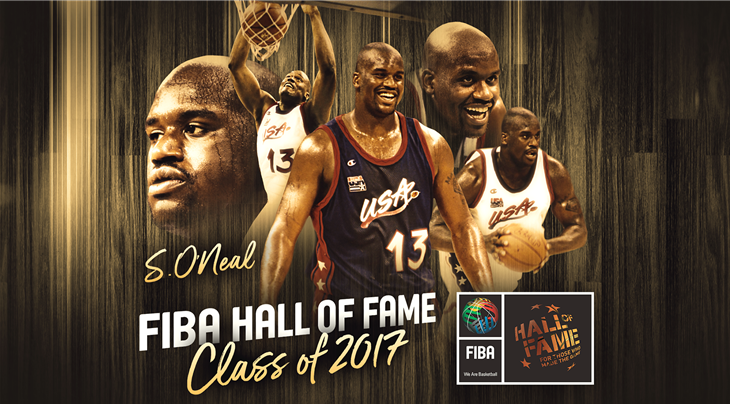 2017 Class of FIBA Hall of Fame: Shaquille O'Neal