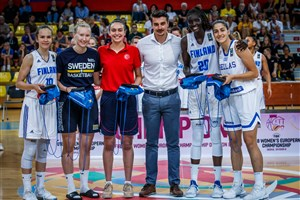All Star Five for FIBA U18 Women B-division
