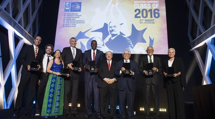 2016 Class of FIBA Hall of Fame inducted