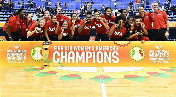 Estados Unidos ganó el título del FIBA Sub-18 Femenino de las Américas 2018  en Ciudad de México 32a838ded4d7c