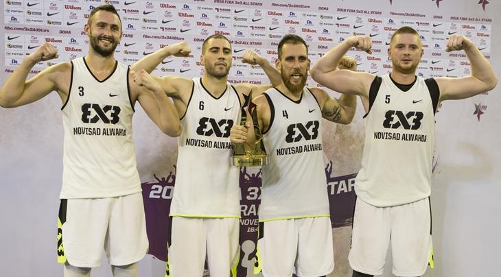 Novi Sad Al Wahda win 2016 FIBA 3x3 All Stars