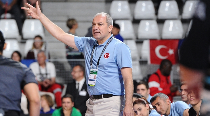 Ekrem Memnun - Head coach, Turkey