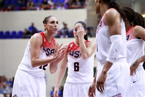 Diana Taurasi and Sue Bird (USA)