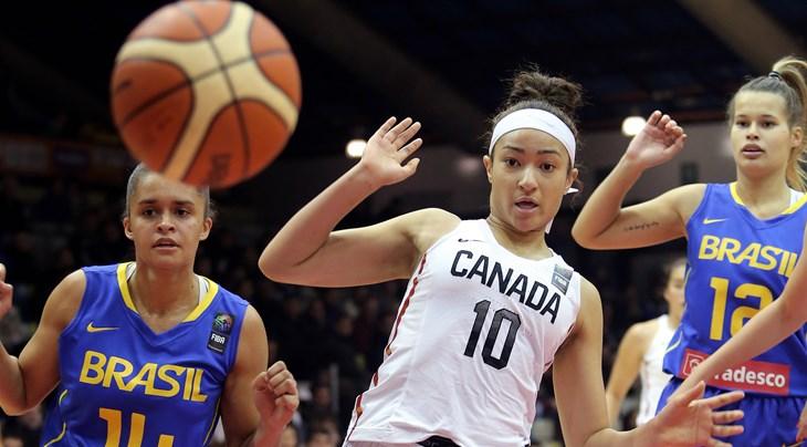 f9ebe9fd0c511 Canada confirm players for Italian job. TORONTO (FIBA U19 Women s Basketball  World Cup) ...
