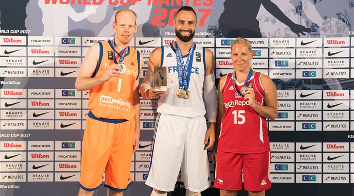 Tsagarakis wins Shoot-Out Contest at 3x3 World Cup 2017