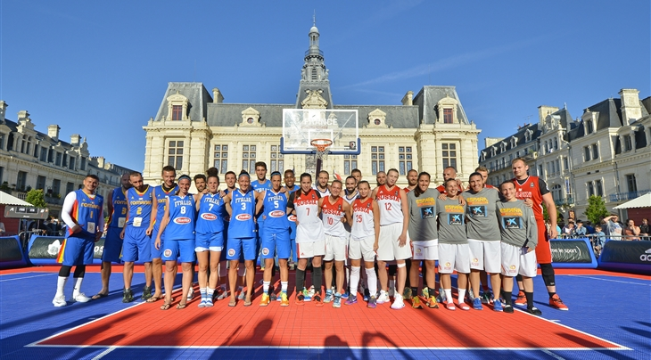 Qualified teams - 2016 FIBA 3x3 European Championships France Qualifier