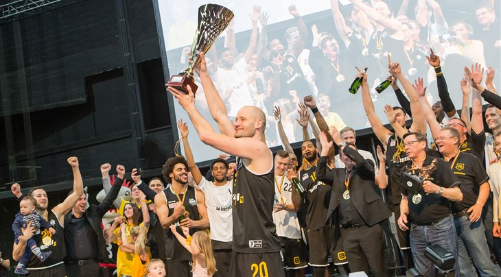Oostende won the Belgian Cup for the sixth time in a row (Courtesy: BC Oostende/Filfoto)