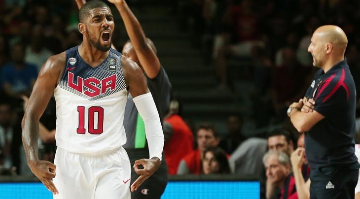 bdc8c515f3d1 Irving building on Spain 2014 MVP performance. CLEVELAND (NBA FIBA  Basketball World Cup) ...