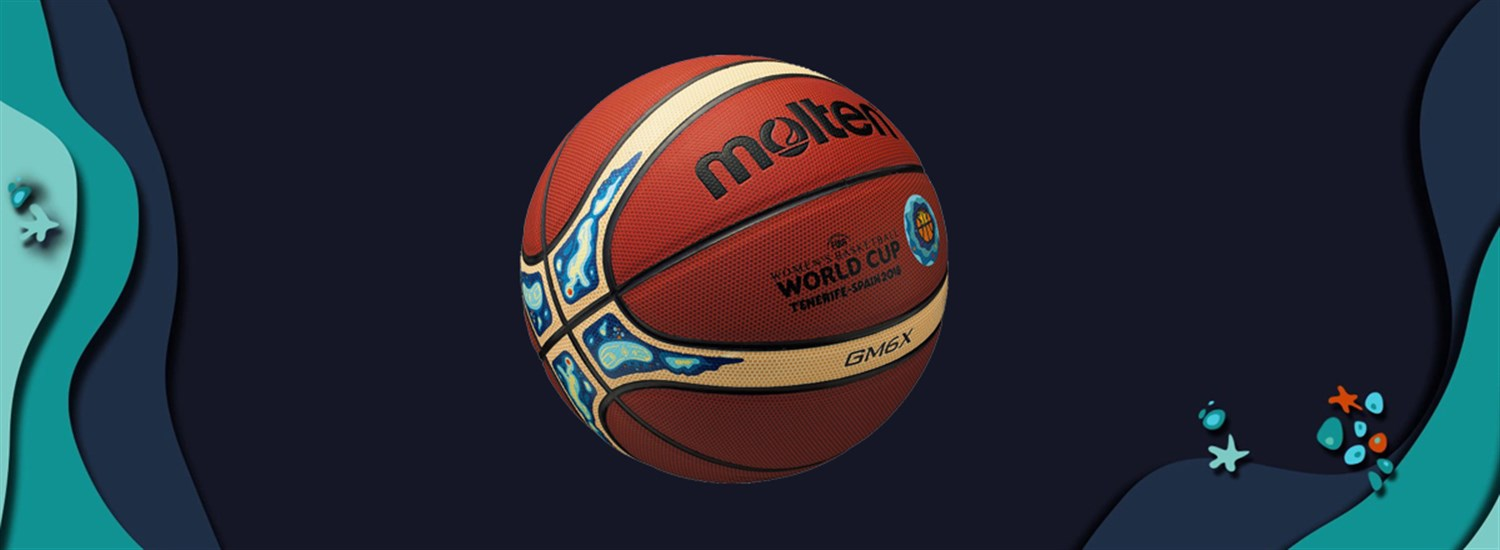 FIBA and Molten unveil official ball for Women s Basketball World Cup 2018 5605d4e2ef