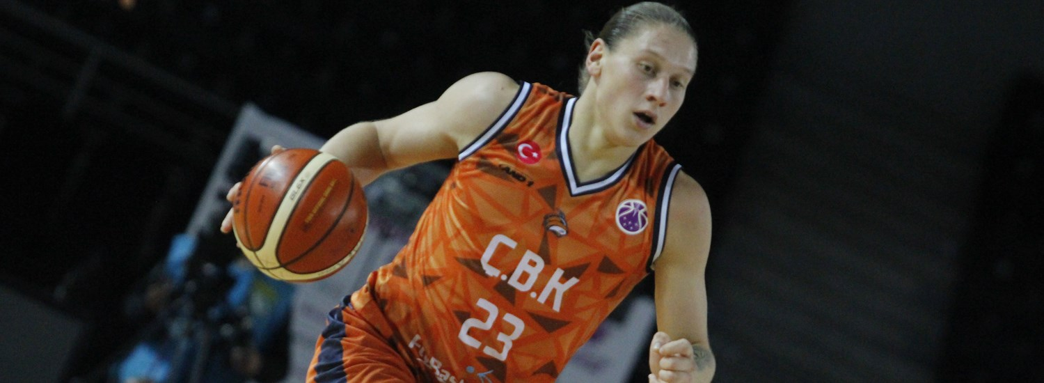 Iagupova shoots her way to Top Performer honors - EuroCup ...