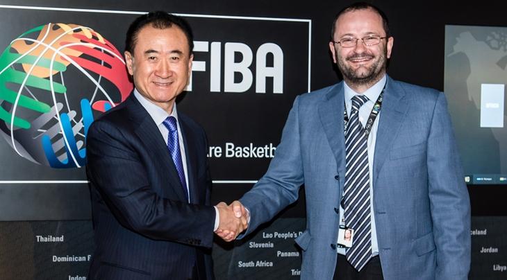 FIBA hosts visit by Dalian Wanda Group and Chairman Wang