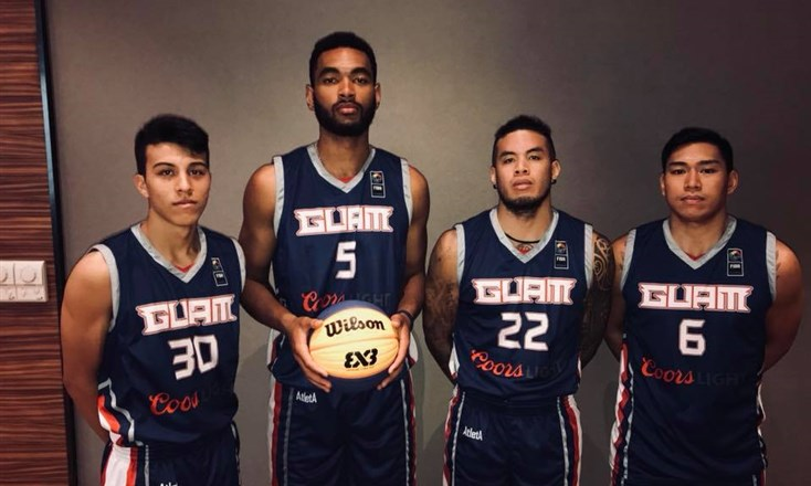 2016 Pacific champions Guam primed and ready for 3x3 Asia Cup