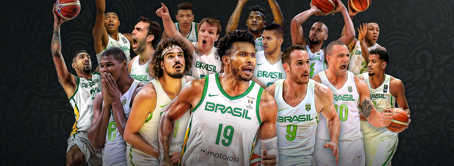 Image result for basketball world cup 2019 brazil team