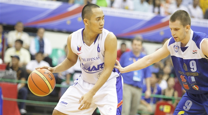 Why is the Philippines not in the FIBA Asia Champions Cup 2016?