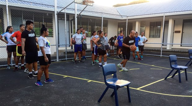 Samoan coaches trained and ready, as SNBA introduces Hoops For Health programs