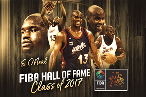 2017 Class of FIBA Hall of Fame: Shaquille O\'Neal