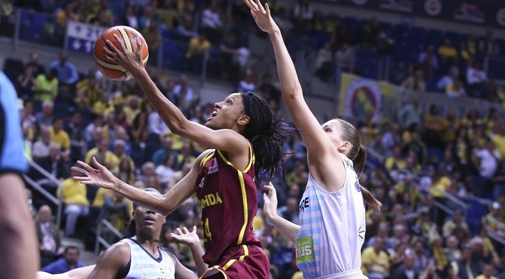 Bonner joins Prague and Tango Bourges take a trophy - EuroLeague Women 2017-18 - FIBA.basketball