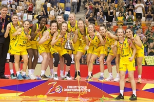Australia win 2016 FIBA U17 Women's World Championship