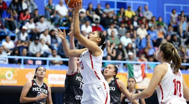 CIUDAD DE MÉXICO (Campeonato FIBA Sub-18 Femenino de las Américas 2018) –  Se completó el cuadro de Cuartos de Final tras la conclusión de la Fase  Grupos. a8477edcc453e