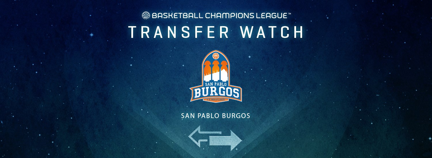 San Pablo Burgos Transfer Watch - Basketball Champions League 2019-20