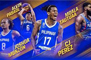 Philippines go all out with star-studded FIBA 3x3 Olympic Qualifying Turnament squad