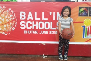 Starting with Bhutan, Ball\'In School aims to make basketball fun for everyone