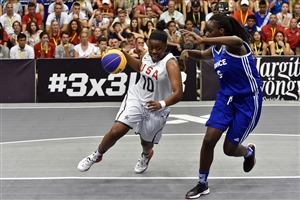 FRA vs USA; Arike OGUNBOWALE (USA)