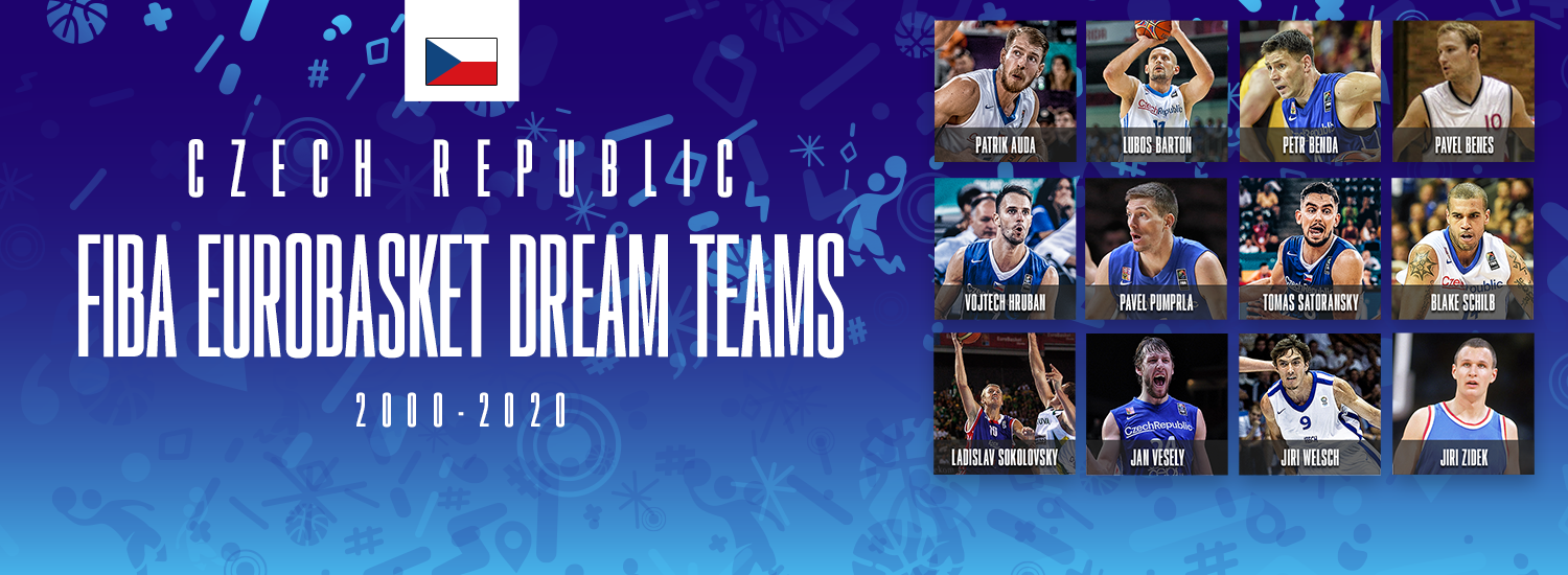 FIBA EuroBasket Dream Teams: Czech Republic