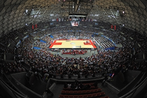 Panoramic of Poliedro Arena