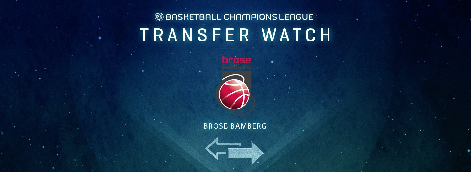 Brose Bamberg Transfer Watch - Basketball Champions League 2019-20
