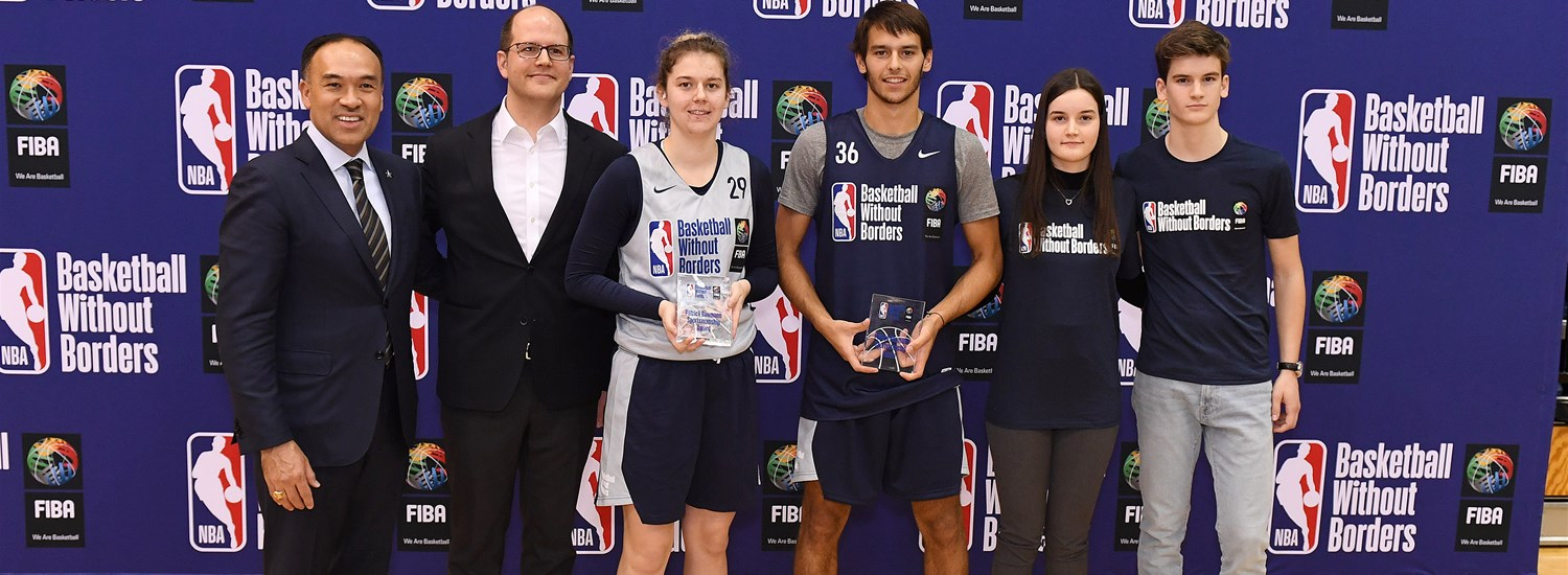 Basketball Without Borders Award Ceremony