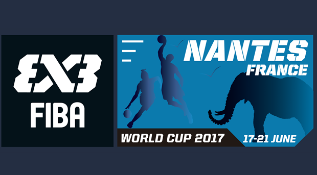 3x3 World Cup 2017 logo unveiled