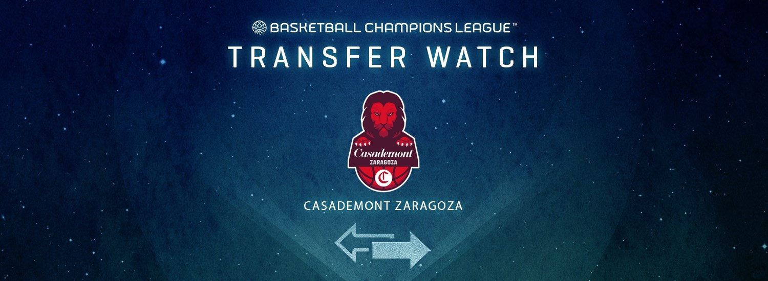 Casademont Zaragoza Transfer Watch - Basketball Champions League ...