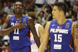 11 Andray  BLATCHE (Philippines); 15 Marc PINGRIS (Philippines)