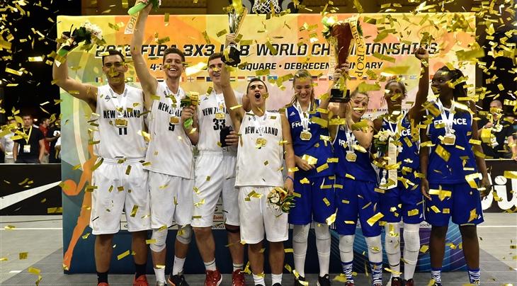 Определились призёры Чемпионата мира по баскетболу 3х3 (U18)