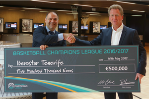 Basketball Champions League welcomes Iberostar Tenerife